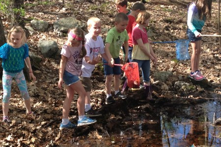 Kids having fun